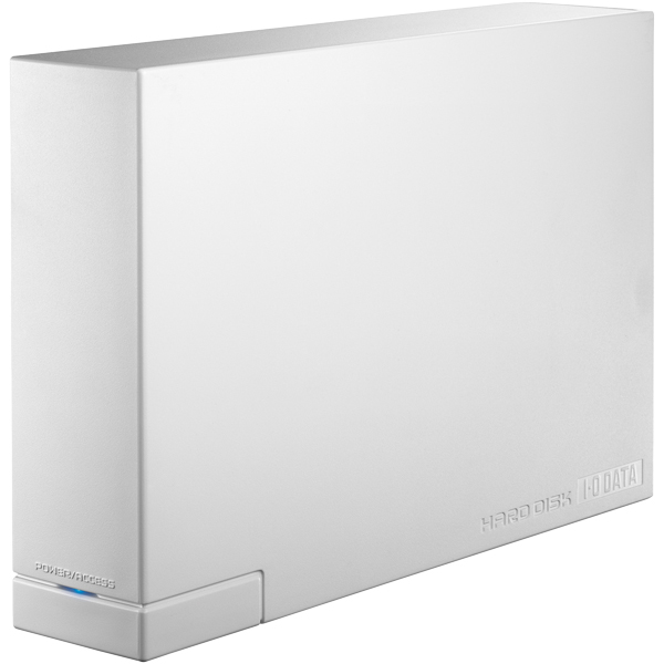 WD製ドライブ搭載 USB 3.0/2.0対応 外付ハードディスク 3TB ホワイト HDCL-UTE3W(FMDI005034)