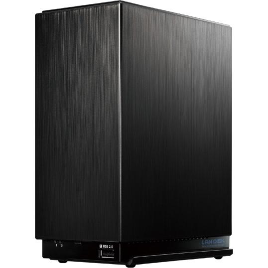 小規模オフィス・SOHO向け超高速2ドライブビジネスNAS「LAN DISK A」 2TB HDL2-AA2W(FMDI007136)