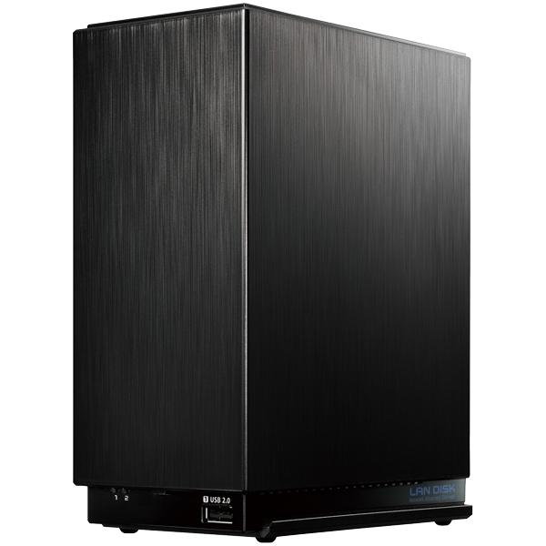 デュアルコアCPU搭載 超高速2ドライブNAS「LAN DISK A」 4TB 引っ越し機能付 HDL2-AA4(FMDI007709)