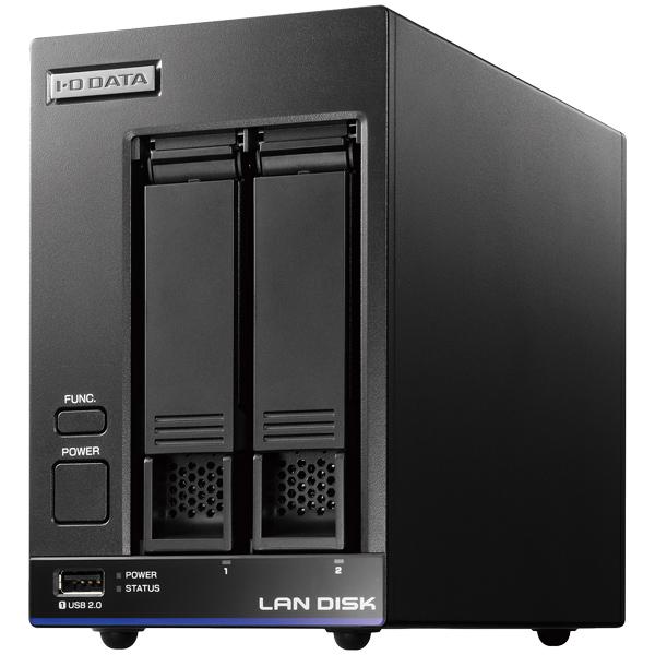 中規模オフィス向け 2ドライブビジネスNAS「LAN DISK X」 2TB HDL2-X2(FMDI007137)