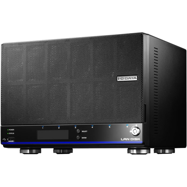 「拡張ボリューム」採用/増設用スロット搭載 4ドライブビジネスNAS 8TB HDL4-H8EX(FMDI007732)
