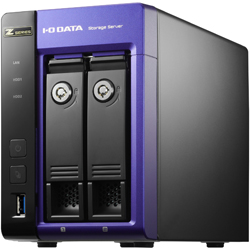 Intel Core i3/Windows Storage Server 2012 R2 Standard Edition搭載 2ドライブビジネスNAS 4.0TB HDL-Z2WL4I2(FMDI007764)