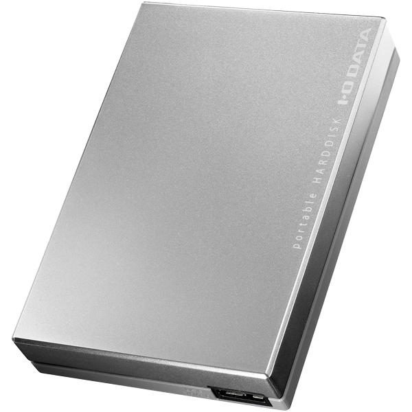 USB 3.0/2.0対応ポータブルハードディスク「超高速カクうす」 2TB シルバー HDPC-UT2DBS(FMDI005854)
