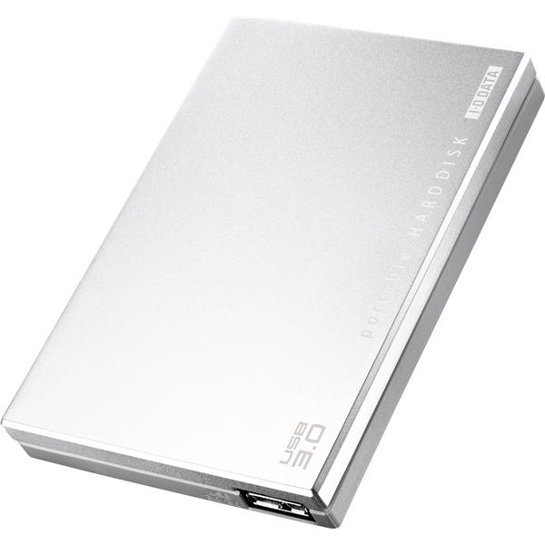 USB3.0/2.0対応 ポータブルハードディスク 「超高速カクうす」 シルバー 500GB・HDPC-UT500SE(FMDI004122)