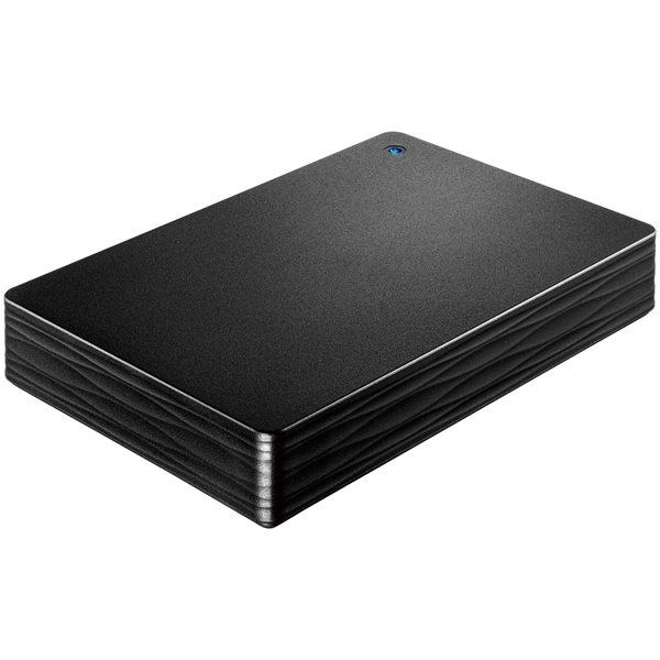 USB3.0/2.0対応ポータブルHD「カクうす Lite」 ブラック 4TB HDPH-UT4DK(FMDI008382)