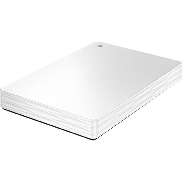 USB3.0/2.0対応ポータブルハードディスク 「カクうす Lite」 500GB ホワイト HDPH-UT500W(FMDI006222)