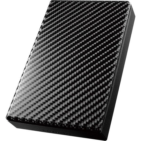 USB3.0/2.0対応ポータブルHD「高速カクうす」 カーボンブラック 3TB HDPT-UT3DK(FMDI008389)