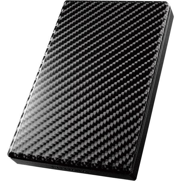 USB3.0/2.0対応ポータブルHD「高速カクうす」 カーボンブラック 500GB HDPT-UT500K(FMDI008391)