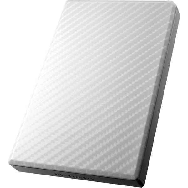 USB3.0/2.0対応ポータブルHD「高速カクうす」 セラミックホワイト 500GB HDPT-UT500W(FMDI008392)