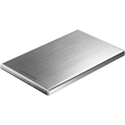 USB3.0/2.0対応 外付けポータブルHDD 「カクうす7」 シルバー 500GB HDPU-UT500S(FMDI002682)