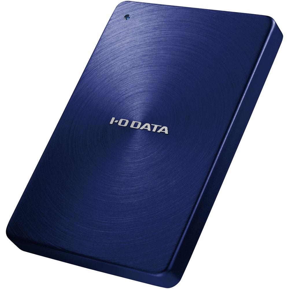 USB3.0/2.0対応 ポータブルハードディスク 「カクうす」 1.0TB ブルー HDPX-UTA1.0B(FMDI003541)