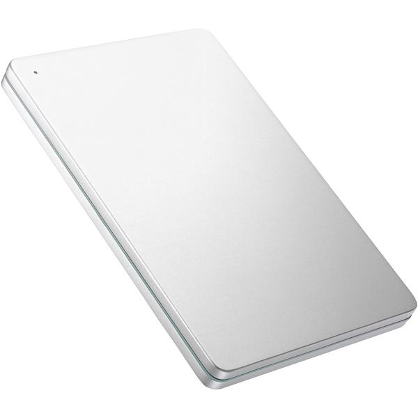 USB 3.0/2.0対応ポータブルHD「カクうす」1TB Silver×Green HDPX-UTS1S(FMDI008394)
