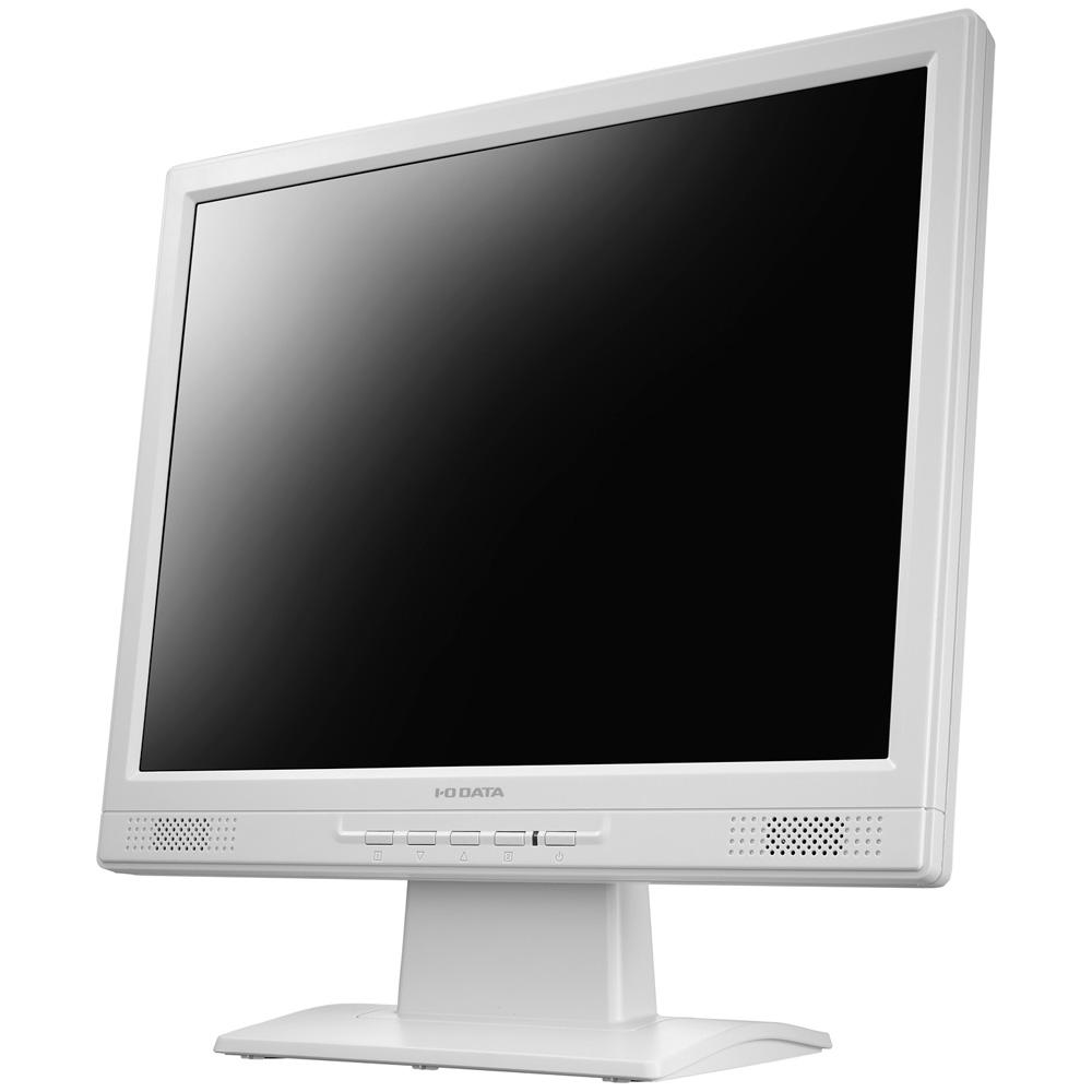 5年保証 XGA対応 15型スクエア液晶ディスプレイ ホワイト LCD-AD151SEW(FMDI006110)