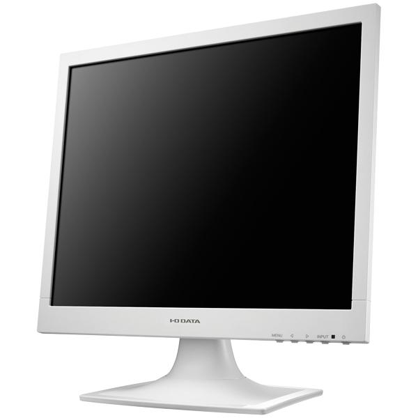 5年保証 フリッカーレス設計採用 17型スクエア液晶ディスプレイ ホワイト LCD-AD173SESW(FMDI007143)