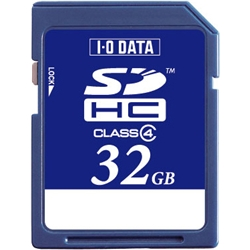 「Class 4」対応 SDHCカード 32GB SDH-W32G(FMDI004549)