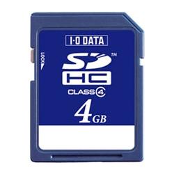 「Class 4」対応 SDHCカード 4GB SDH-W4G(FMDI004550)