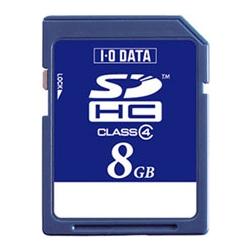 「Class 4」対応 SDHCカード 8GB SDH-W8G(FMDI004551)
