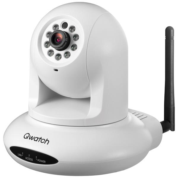有線/無線LAN対応ネットワークカメラ 「Qwatch(クウォッチ)」 TS-WPTCAM2(FMDI007162)