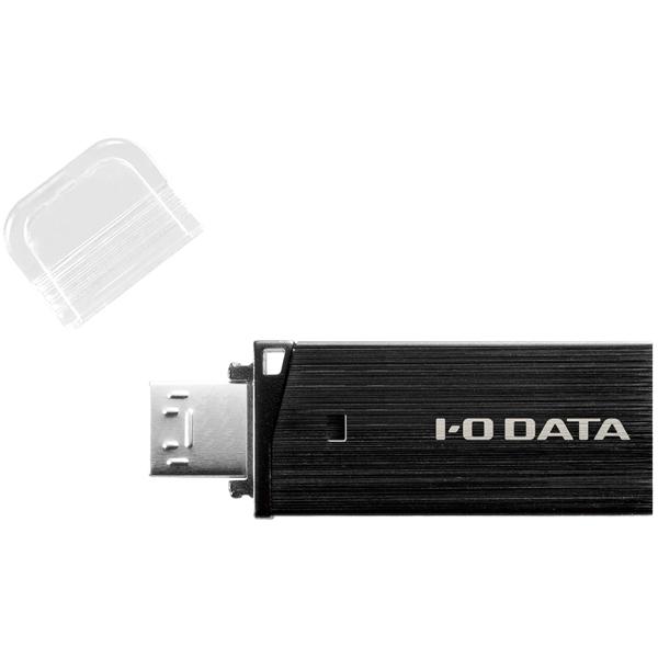 Androidスマホ・タブレット用 USBメモリー USB3.0対応 8GB ブラック U3-DBLT8G/K(FMDI012490)