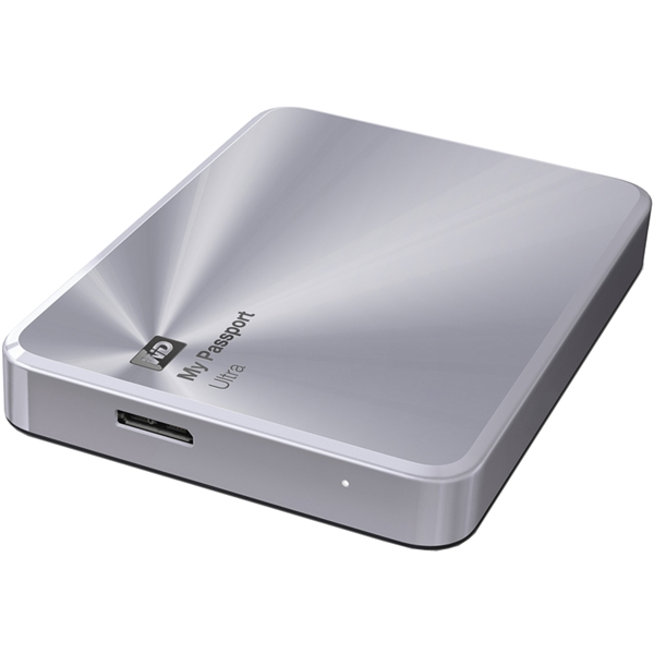 プレミアムストレージ 「My Passport Ultra Metal Edition」 シルバー 2TB WDBEZW0020BSL-JESN(FMDI005121)