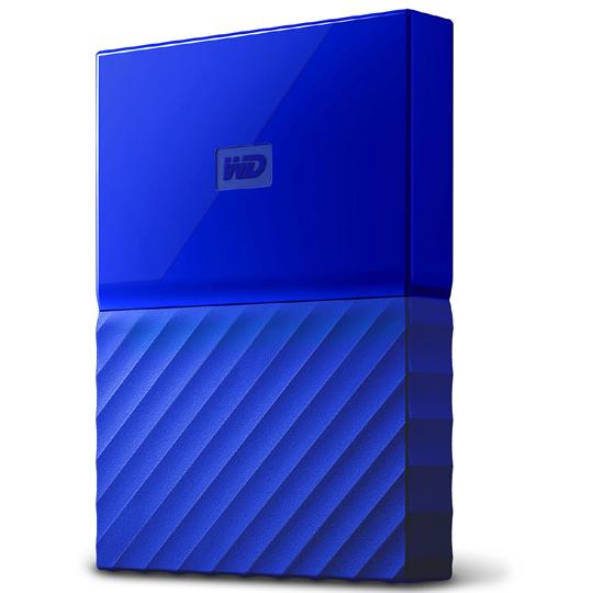 ポータブルストレージ「My Passport(2018年発売モデル)」 2TB ブルー WDBS4B0020BBL-JESN(FMDI009996)