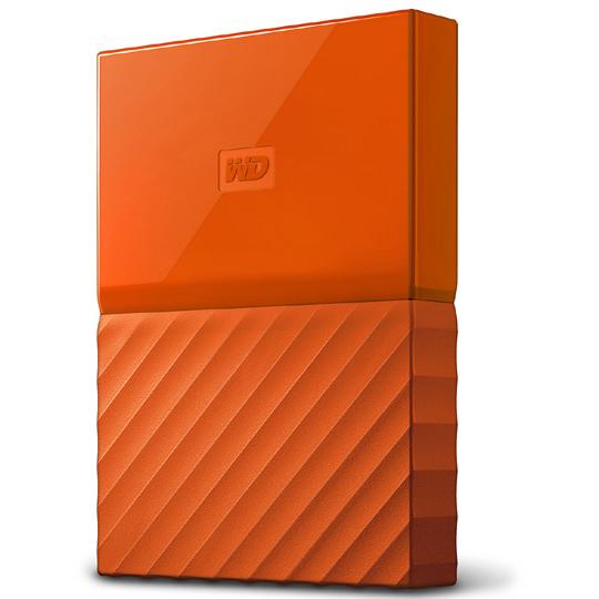ポータブルストレージ「My Passport(2018年発売モデル)」 2TB オレンジ WDBS4B0020BOR-JESN(FMDI009997)