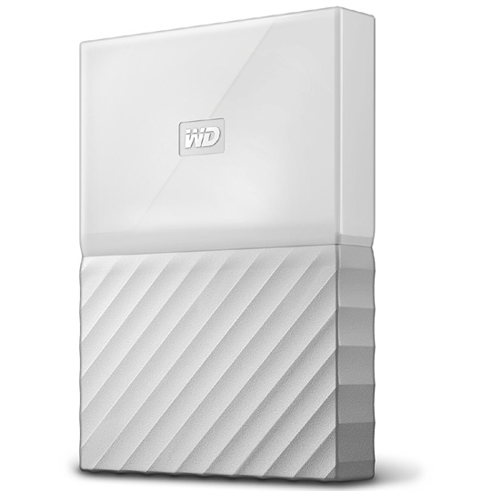 ポータブルストレージ「My Passport(2018年発売モデル)」 2TB ホワイト WDBS4B0020BWT-JESN(FMDI009999)