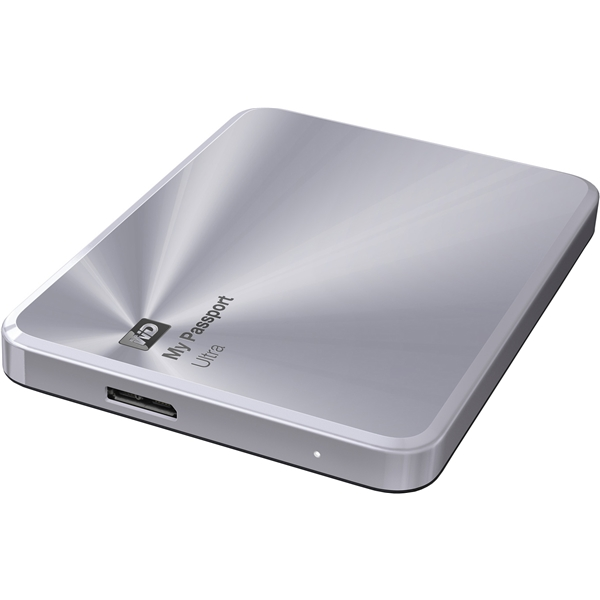プレミアムストレージ 「My Passport Ultra Metal Edition」 シルバー 1TB WDBTYH0010BSL-JESN(FMDI005862)