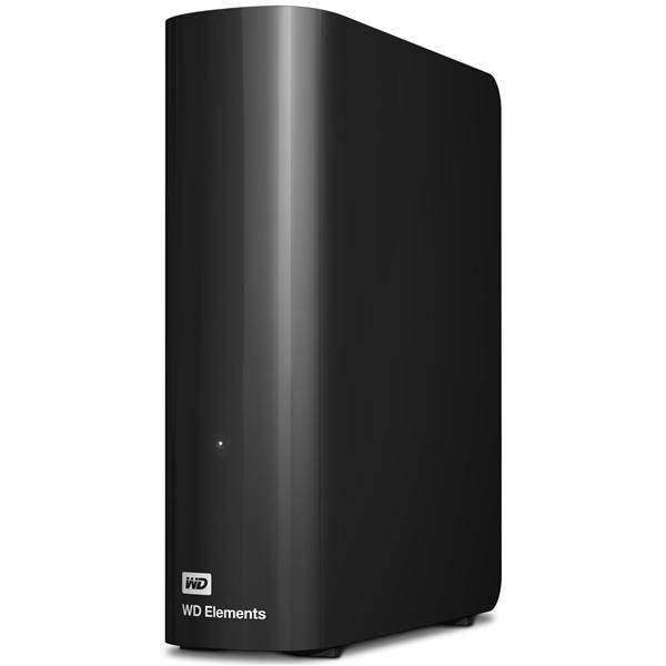 デスクトップハードディスクドライブ 「WD Elements」 2TB WDBWLG0020HBK-JESN(FMDI005047)