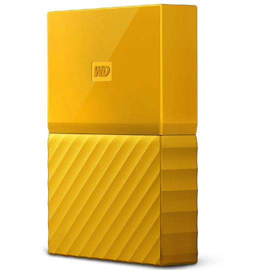 ポータブルストレージ「My Passport(2018年発売モデル)」 4TB イエロー WDBYFT0040BYL-JESN(FMDI010006)