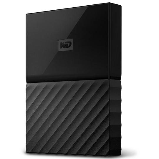 ポータブルストレージ「My Passport(2018年発売モデル)」 1TB ブラック WDBYNN0010BBK-JESN(FMDI010007)