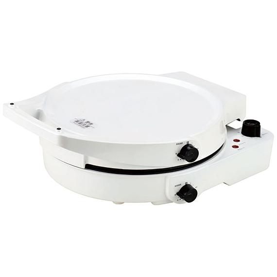 両面ホットプレート (パールホワイト) NDA-3013AW(FMDI006385)