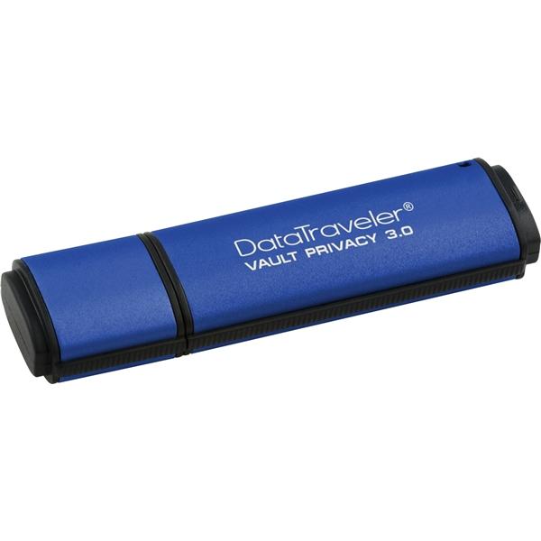 DataTraveler Vault Privacy 3.0 16GB USBメモリー セキュリティモデル 防水機能付・DTVP30/16GB(FMDI003908)