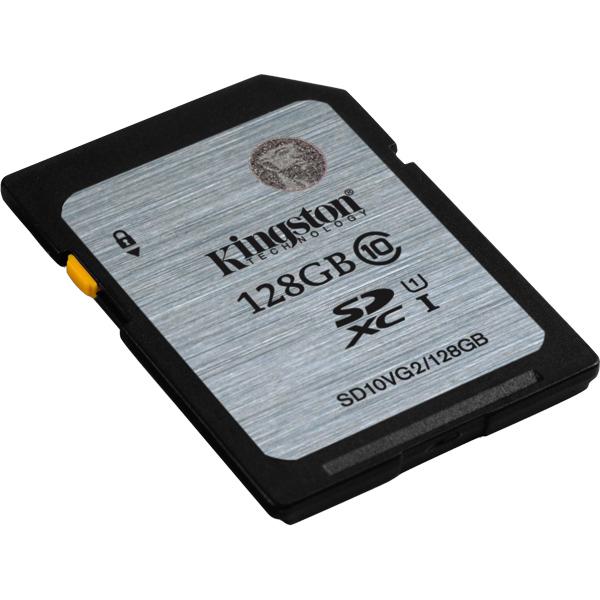 128GB SDXCカード Class10 UHS-I 45MB/s Read SD10VG2/128GB(FMDI004555)