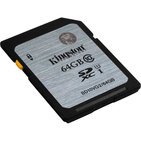 64GB SDXCカード Class10 UHS-I 45MB/s Read SD10VG2/64GB(FMDI004557)