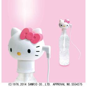 ペットボトル式超音波加湿器 ハローキティ USB式電源タイプ TK-28(FMDI005985)