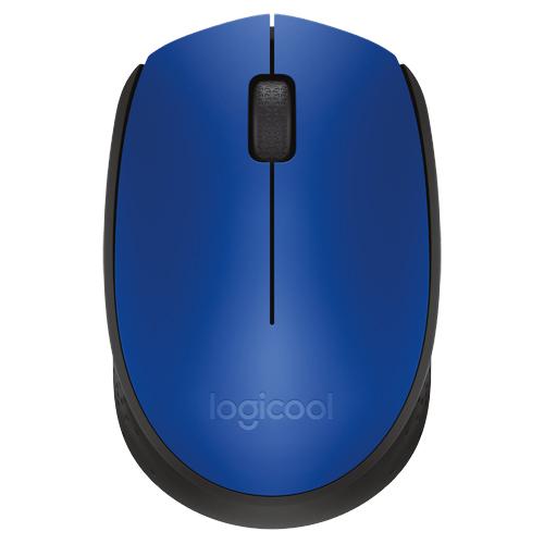 ワイヤレスマウス レシーバー付 ブルー M171BL(FMDI008845)