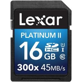 Platinum II 300x SDHC UHS-Iカード 16GB LSD16GBBJP300(FMDI007194)