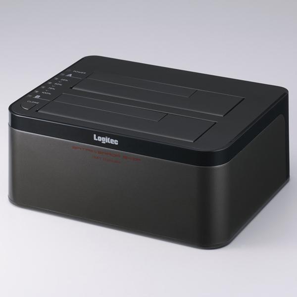 2Bayスタンド型3.5インチHDD&2.5インチHDD+SSDデュプリケーターケース/エラースキップ機能付 LGB-2BDPU3ES(FMDI012259)