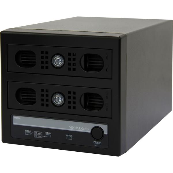 アクセスログ強化NAS/LSV-MS2VKWLシリーズ/AUDITライセンス1年バンドル/MiniBOX型/2TB LSV-MS2T/2VKWL(FMDI007787)