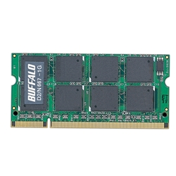 PC2-5300�Ή� DDR2 667MHz SDRAM 200pin SO-DIMM�uD2/N667�V���[�Y�v�i1GB�j(FMDI000889)