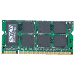 PC2-6400�Ή� 800MHz 200Pin DDR2 SO-DIMM�uD2/N800�V���[�Y�v�i2GB�j(FMDI000463)