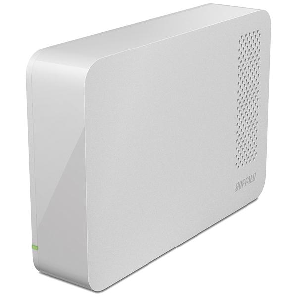 ドライブステーション ターボPC EX2 Plus対応 USB3.0用 外付けHDD 4TB ホワイト HD-LC4.0U3-WHE(FMDI005059)