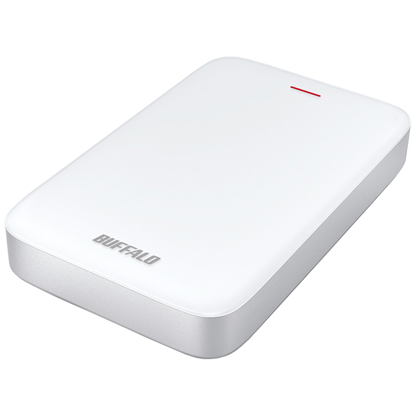 ミニステーション Thunderbolt&USB3.1(Gen1)/USB3.0対応ポータブルHDD USB Type-C変換端子付属 2TB(FMDI006236)