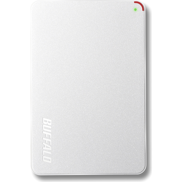 ミニステーション ターボPC EX2対応 USB3.0用 ポータブルHDD 2.0TB ホワイト HD-PCF2.0U3-GWD(FMDI005866)