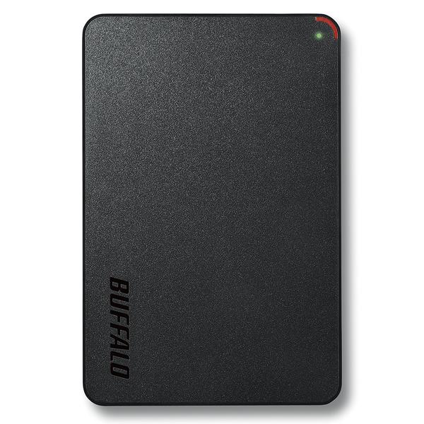 USB3.1(Gen1)/USB3.0用 ポータブルHDD 500GB ブラック HD-PCF500U3-BE(FMDI007020)