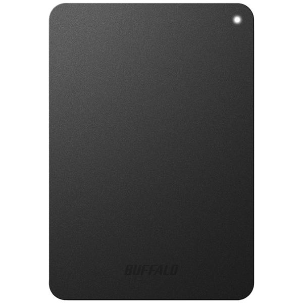 ミニステーション ターボPC EX2 Plus対応 耐衝撃&USB3.0 ポータブルHDD 1TB ブラック HD-PNF1.0U3-BBD(FMDI005869)