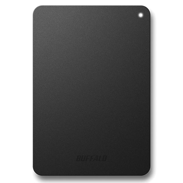 耐衝撃対応 USB3.1(Gen1)/USB3.0用 ポータブルHDD 1TB ブラック HD-PNF1.0U3-BBE(FMDI007022)