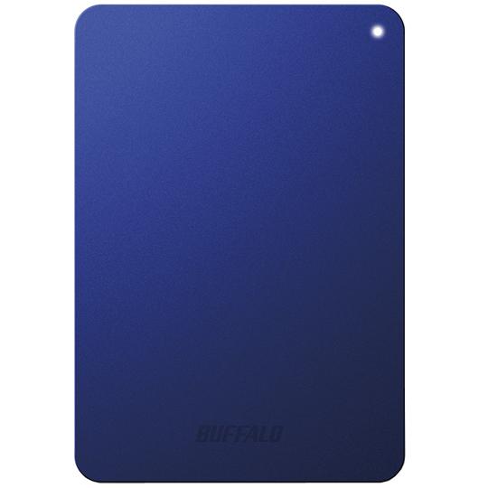 ミニステーション ターボPC EX2 Plus対応 耐衝撃&USB3.0 ポータブルHDD 1TB ブルー HD-PNF1.0U3-BLD(FMDI005135)