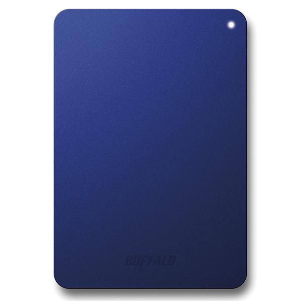 耐衝撃対応 USB3.1(Gen1)/USB3.0用 ポータブルHDD 1TB ブルー HD-PNF1.0U3-BLE(FMDI007023)